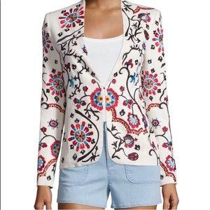 Alice + Olivia • Juliet embroidered Jacket